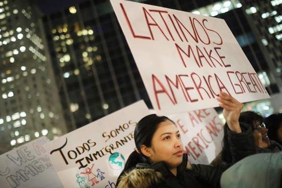 صورة رقم 4 -   مطاعم ومتاجر امريكا تغلق أبوابها اليوم تضامنًا مع المهاجرين