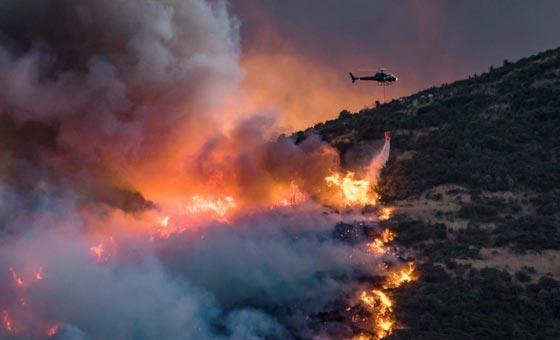 حرائق غابات ضخمة في نيوزيلندا تتسبب بنزوح الآلاف عن بيوتهم صورة رقم 1