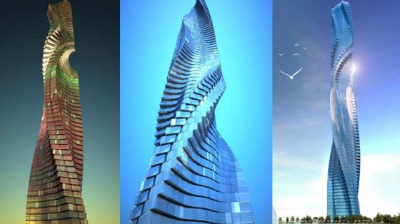 دبي تخطط لبناء اول ناطحة سحاب دوارة في العالم.. صور صورة رقم 2