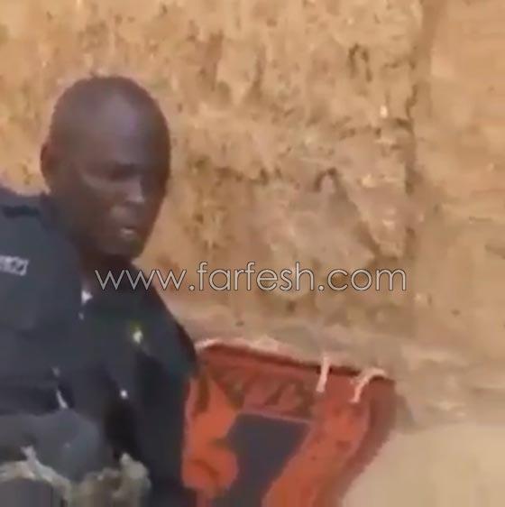 صورة رقم 5 - فيديو ضاحك: مقلب مرعب نفذته امرأة بزوجها  في الصحراء