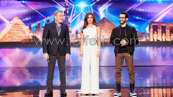 صورة رقم 5 - هل فعلا يغار احمد حلمي من (طرزان) المتسابق المصري في عرب غوت تالنت؟