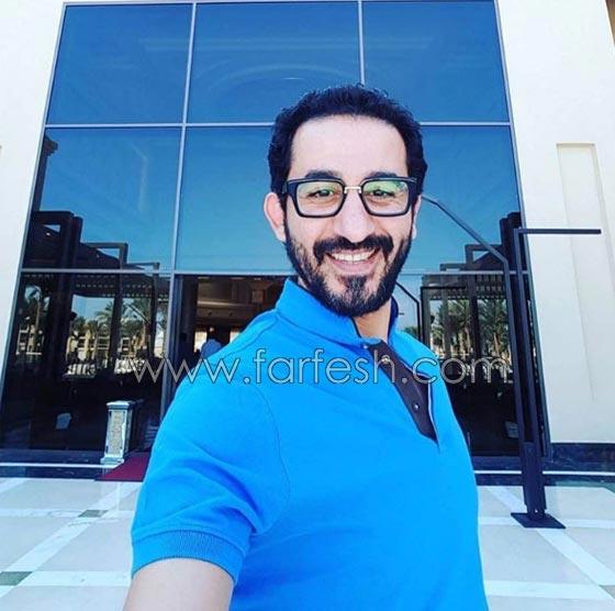 صورة رقم 9 - هل فعلا يغار احمد حلمي من (طرزان) المتسابق المصري في عرب غوت تالنت؟