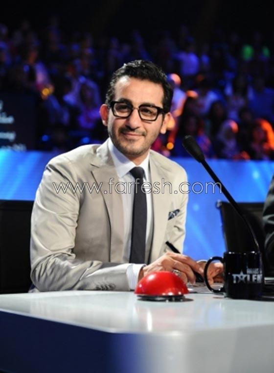 صورة رقم 10 - هل فعلا يغار احمد حلمي من (طرزان) المتسابق المصري في عرب غوت تالنت؟