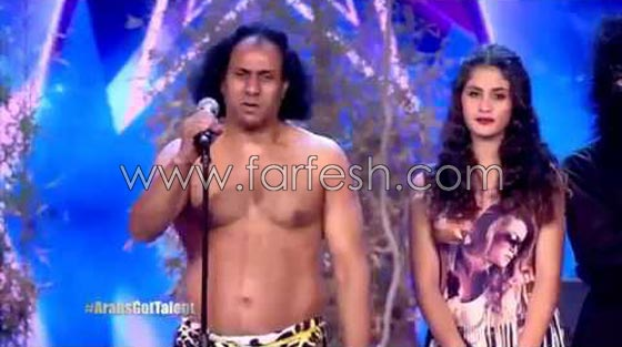 صورة رقم 3 - هل فعلا يغار احمد حلمي من (طرزان) المتسابق المصري في عرب غوت تالنت؟
