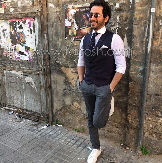 صورة رقم 14 - هل فعلا يغار احمد حلمي من (طرزان) المتسابق المصري في عرب غوت تالنت؟