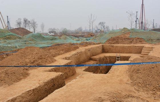 صورة رقم 5 -   ما هو سر المقبرة الغريبة هرمية الشكل التي تم اكتشافها في الصين؟