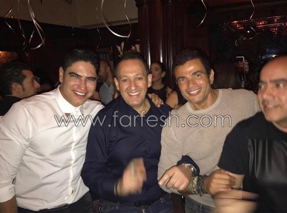 هل احتفل عمرو دياب بزواجه من دينا الشربيني في كازينو بالزمالك؟    صورة رقم 1