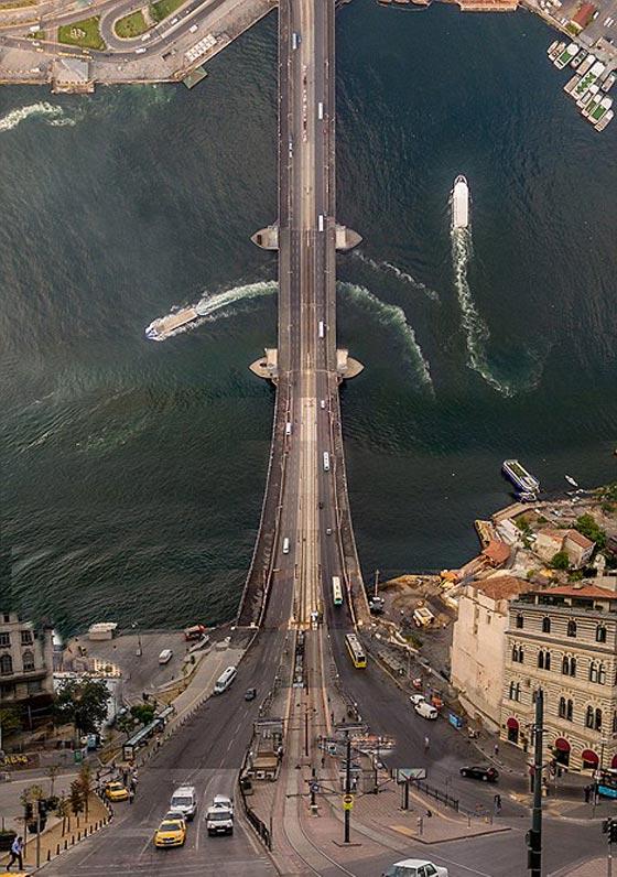 صورة رقم 3 - صور غريبة بأبعاد مذهلة يلتقطها مصور تركي بطائرات درون