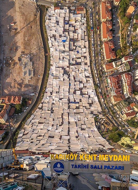 صورة رقم 11 - صور غريبة بأبعاد مذهلة يلتقطها مصور تركي بطائرات درون