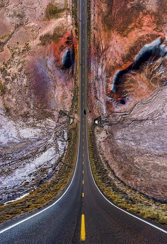 صورة رقم 14 - صور غريبة بأبعاد مذهلة يلتقطها مصور تركي بطائرات درون