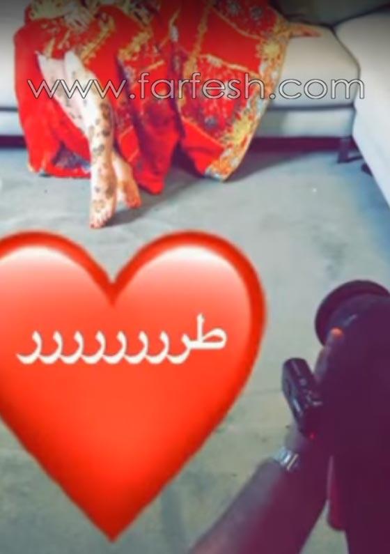 صورة رقم 12 - الاعلامية حليمة بولند تثير الجدل بنشر صور من جلسة حناء.. فيديو
