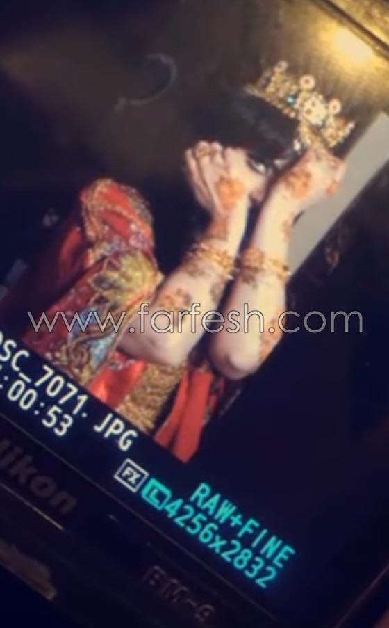 صورة رقم 15 - الاعلامية حليمة بولند تثير الجدل بنشر صور من جلسة حناء.. فيديو