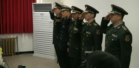 صورة رقم 1 - تكريم رفات 28 جنديا صينيا قتلوا في الحرب الكورية بالخمسينيات