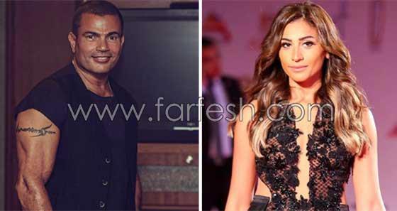 مفاجأة: لن تتخيل رد فعل زينة عاشور على خبر زواج عمرو دياب ودينا الشربيني صورة رقم 2