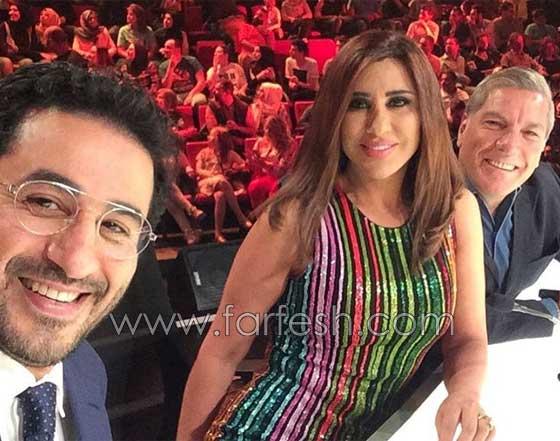 فيديو مضحك لأطرف ردود فعل نجوى كرم، احمد حلمي وعلي جابر في اراب غوت تالنت صورة رقم 1