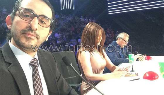 فيديو مضحك لأطرف ردود فعل نجوى كرم، احمد حلمي وعلي جابر في اراب غوت تالنت صورة رقم 7