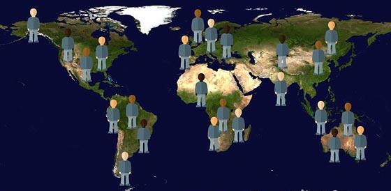 علماء يصوّرون شكل الانسان والكرة الارضية في عام مليون!! صورة رقم 3