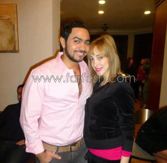صورة رقم 3 - صور بسمة بوسيل زوجة تامر حسني بدون ماكياج ولا عدسات ملونة