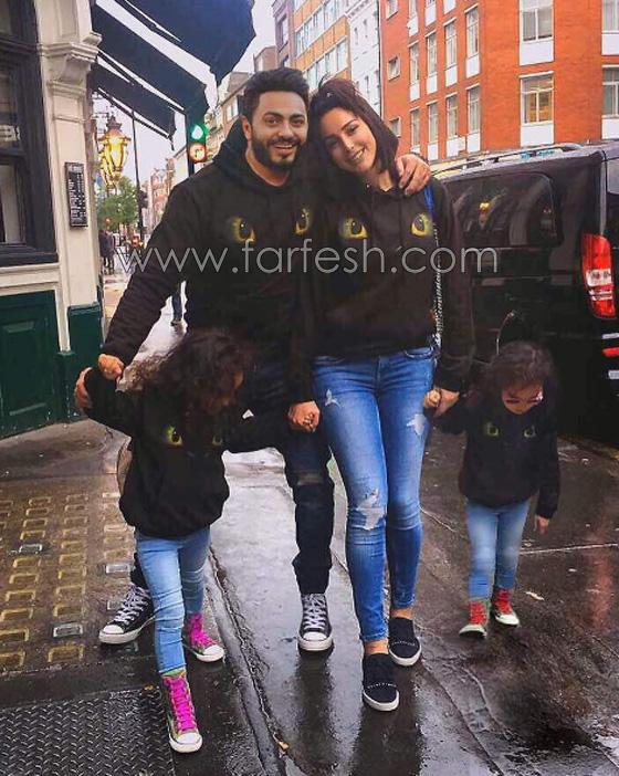 صورة رقم 9 - صور بسمة بوسيل زوجة تامر حسني بدون ماكياج ولا عدسات ملونة