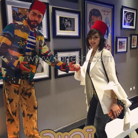 صورة رقم 6 - صور بسمة بوسيل زوجة تامر حسني بدون ماكياج ولا عدسات ملونة