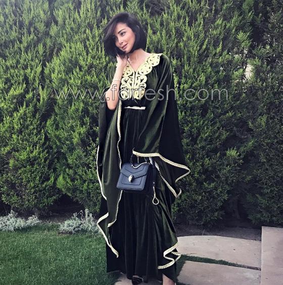 صورة رقم 7 - صور بسمة بوسيل زوجة تامر حسني بدون ماكياج ولا عدسات ملونة