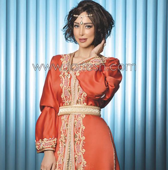 صورة رقم 4 - صور بسمة بوسيل زوجة تامر حسني بدون ماكياج ولا عدسات ملونة