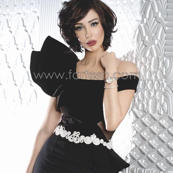 صورة رقم 5 - صور بسمة بوسيل زوجة تامر حسني بدون ماكياج ولا عدسات ملونة