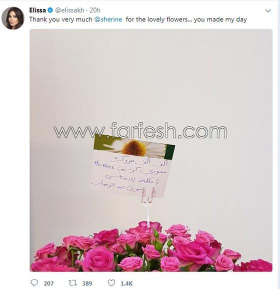 رد مفاجئ من شيرين عبد الوهاب بعد اعلان اسماء اعضاء (ذا فويس) صورة رقم 1