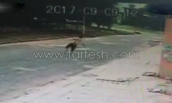فيديو مروع.. لحظة سقوط رجل من الطابق السادس وارتطامه بالأرض صورة رقم 1