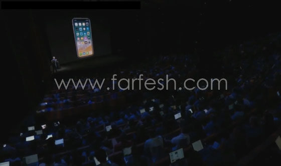 صورة رقم 5 - بالفيديو.. آيفون X يصدم الحضور في أول أختبار له