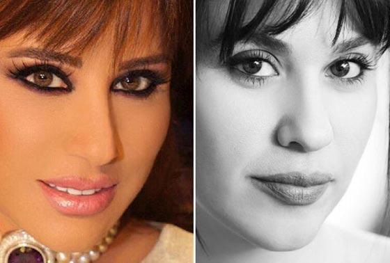 صورة رقم 11 -  صور فنانات عربيات تشبهن نجمات عالميات بدرجة غريبة غير متوقعة!!