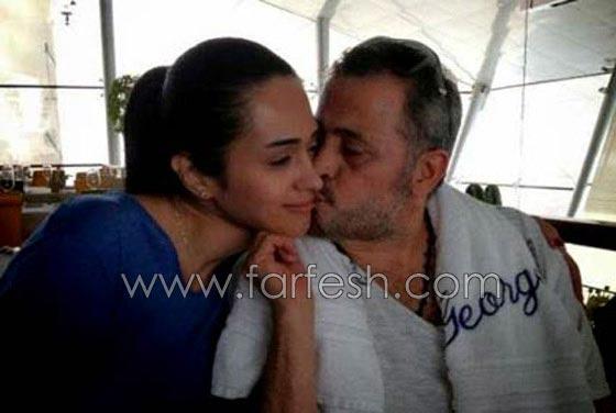 صورة رقم 3 - صور ابنة سلطان الطرب: ندى زيدان تنشر صور عيون جورج وسوف بعيدها الثاني