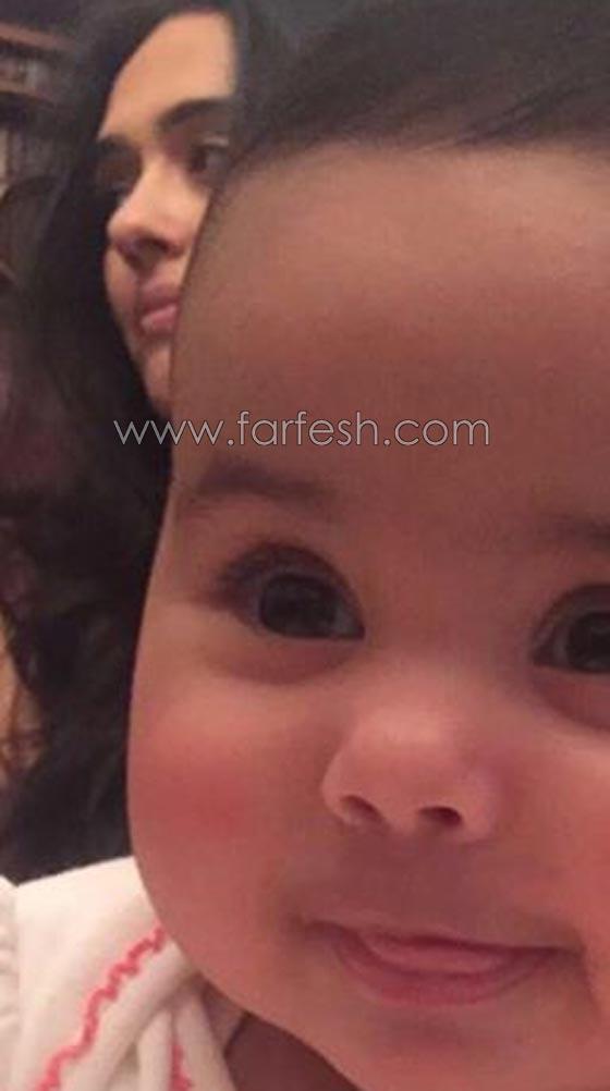 صورة رقم 8 - صور ابنة سلطان الطرب: ندى زيدان تنشر صور عيون جورج وسوف بعيدها الثاني