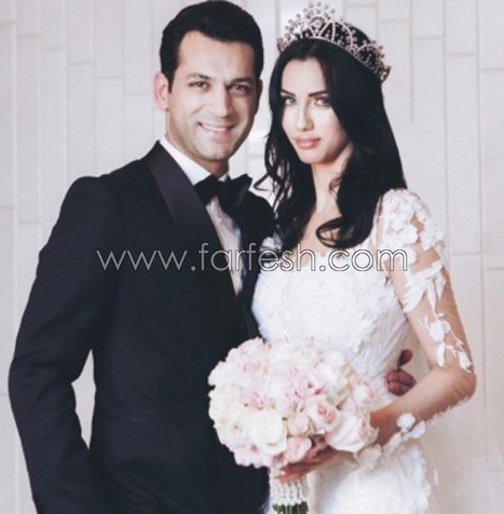 صورة رقم 3 - إليكم أجمل أعراس المشاهير التي ضجت بها مواقع التواصل هذا العام
