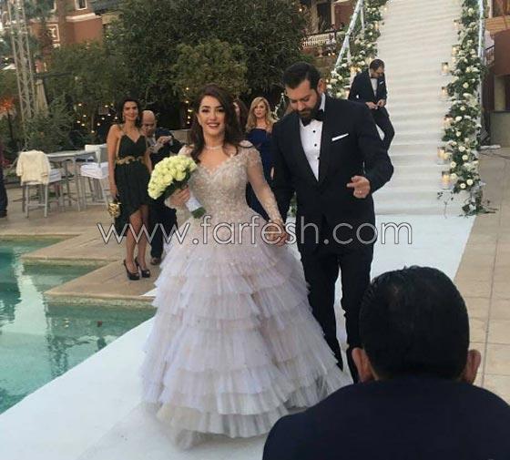 صورة رقم 2 - إليكم أجمل أعراس المشاهير التي ضجت بها مواقع التواصل هذا العام