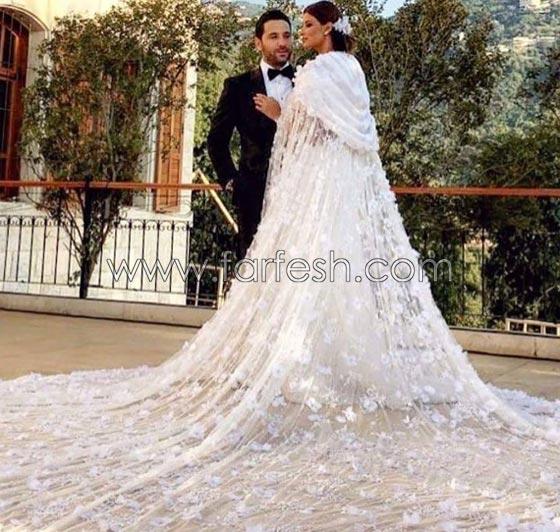 صورة رقم 7 - إليكم أجمل أعراس المشاهير التي ضجت بها مواقع التواصل هذا العام