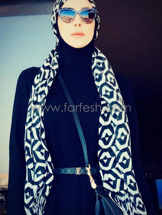 أمل حجازي: لن أتخلى عن أناقتي رغم حجابي والمنتقدين كان لا بد من وضع حد لهم! صورة رقم 3