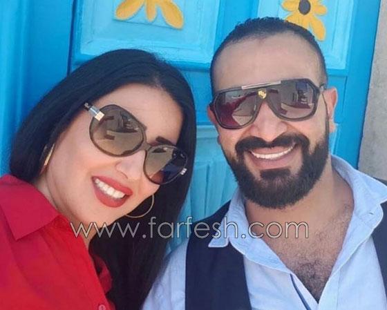 رسميا.. زواج المطرب أحمد سعد من الفنانة المصرية سمية الخشاب صورة رقم 3