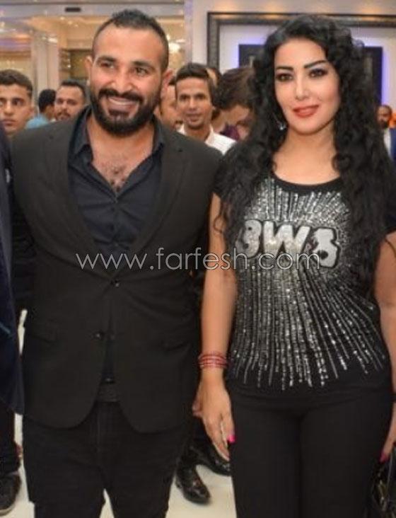 رسميا.. زواج المطرب أحمد سعد من الفنانة المصرية سمية الخشاب صورة رقم 5