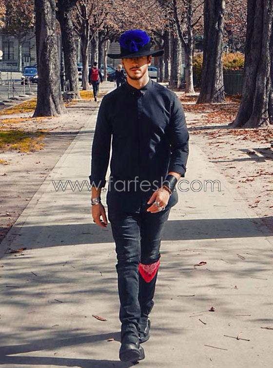 صورة رقم 1 - اطلالات سعد المجرد تثير استياء جمهوره: يختار ملابس نسائية او غريبة!