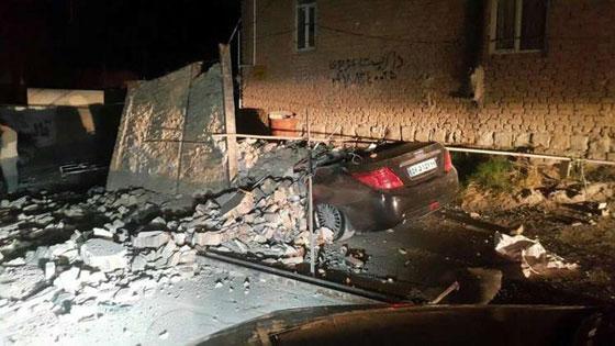 صورة رقم 1 - عشرات القتلى ومئات الجرحى اثر زلزال ضرب الحدود العراقية الإيرانية