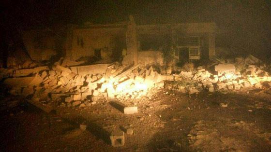 صورة رقم 2 - عشرات القتلى ومئات الجرحى اثر زلزال ضرب الحدود العراقية الإيرانية