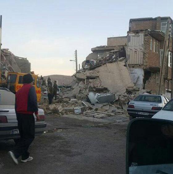 صورة رقم 7 - عشرات القتلى ومئات الجرحى اثر زلزال ضرب الحدود العراقية الإيرانية