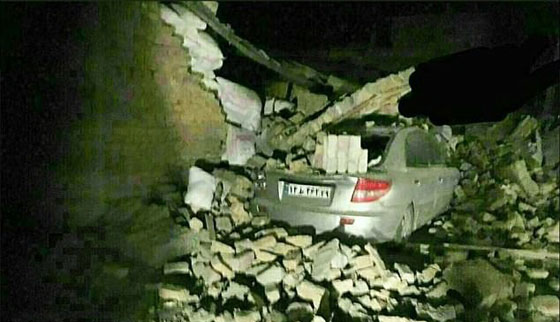 صورة رقم 14 - عشرات القتلى ومئات الجرحى اثر زلزال ضرب الحدود العراقية الإيرانية