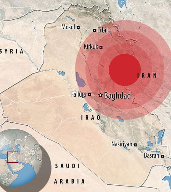 صورة رقم 19 - عشرات القتلى ومئات الجرحى اثر زلزال ضرب الحدود العراقية الإيرانية