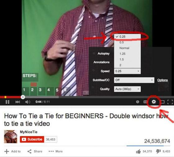 صورة رقم 13 - هل تعلم ان هناك خصائص مدهشة في اليوتيوب لم تستخدمها من قبل؟