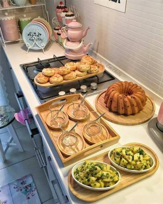 صورة رقم 12 - بالصور.. امرأة تركية تبدع في تقديم الطعام بنظام وترتيب بطريقة مذهلة