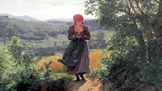 صورة رقم 2 - آيفون القرن الـ19.. فتاة تمسك بآيفون في لوحة تعود لعام 1860!