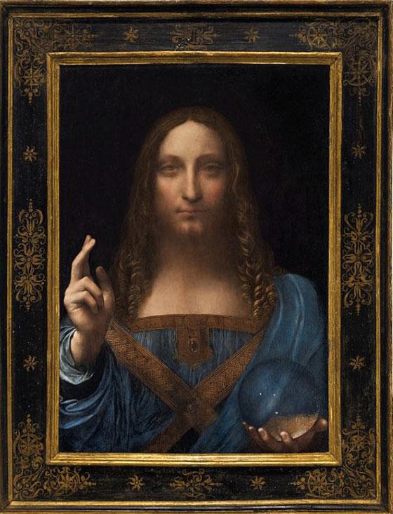 صورة رقم 6 - فيديو وصور.. لوحة المسيح لدافينشي تحطم سعراً قياساً كأغلى لوحة يتم بيعها بمزاد