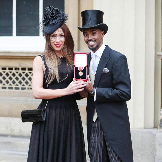 صورة رقم 6 - ملكة بريطانيا تكرم العداء الصومالي محمد فرح وتمنحه لقب